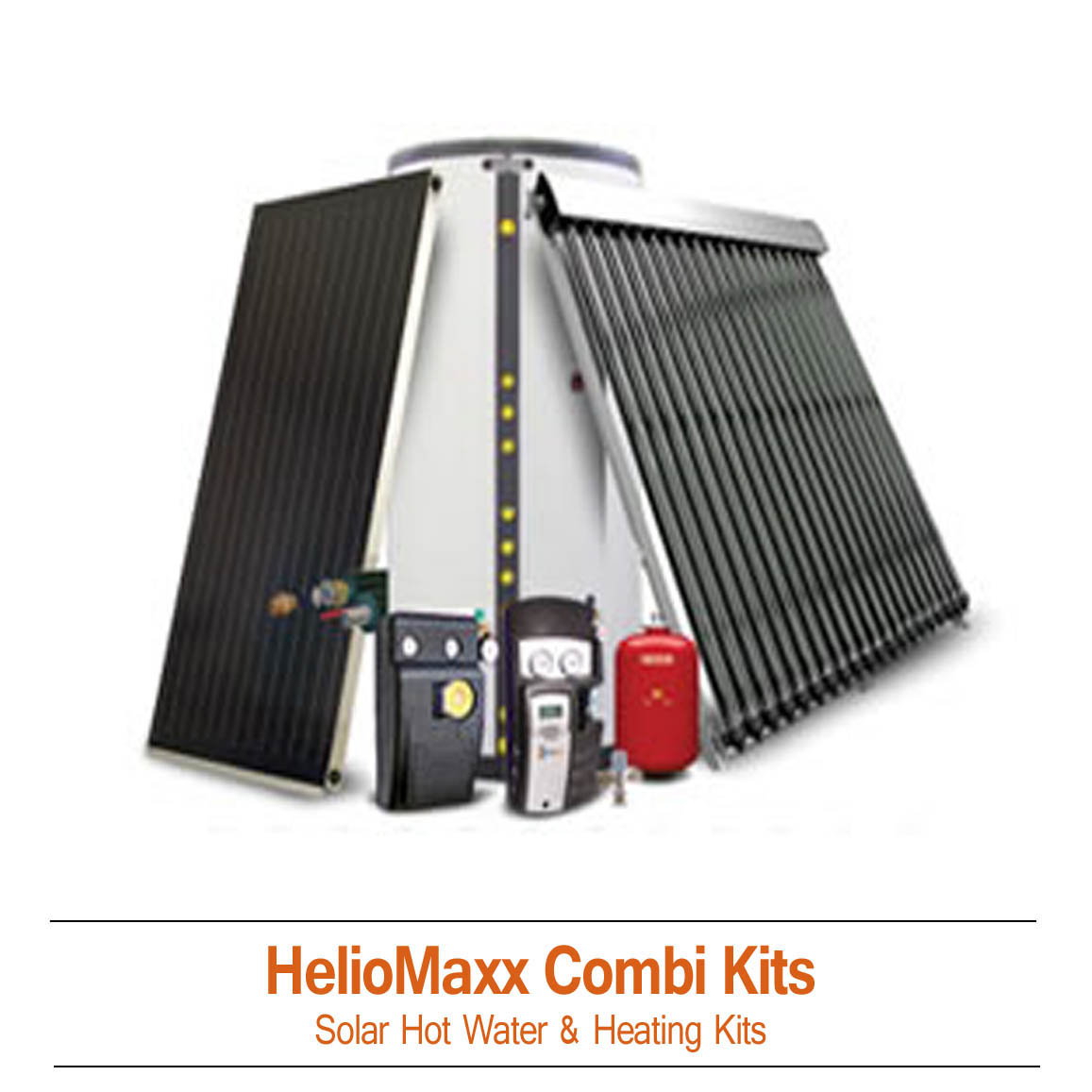Combi Solar Hot Water & Radiant Heating Kits