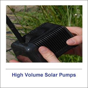 High Volume Solar Pumps