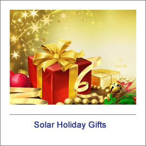 Solar Holiday Gifts