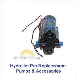 HydroJet Replacement Solar Pumps & Accessories