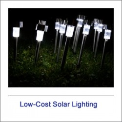 Low-Cost Solar Lighting