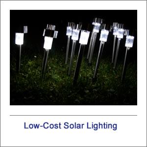 Low Cost Solar Lighting
