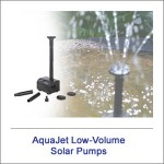Low Volume Solar Pumps