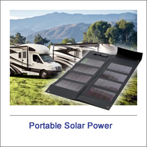 Small Portable Solar Power System