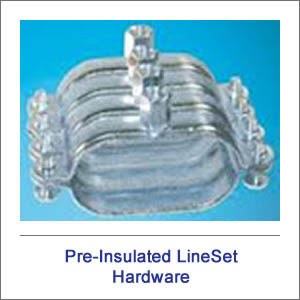 Pre-Insulated Solar LineSet hardware