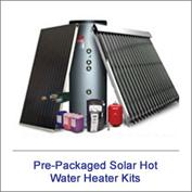 Pre-Packaged Solar Hot Water Kits