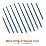 Replacement Evacuated Solar Tubes 1800mm x 58mm