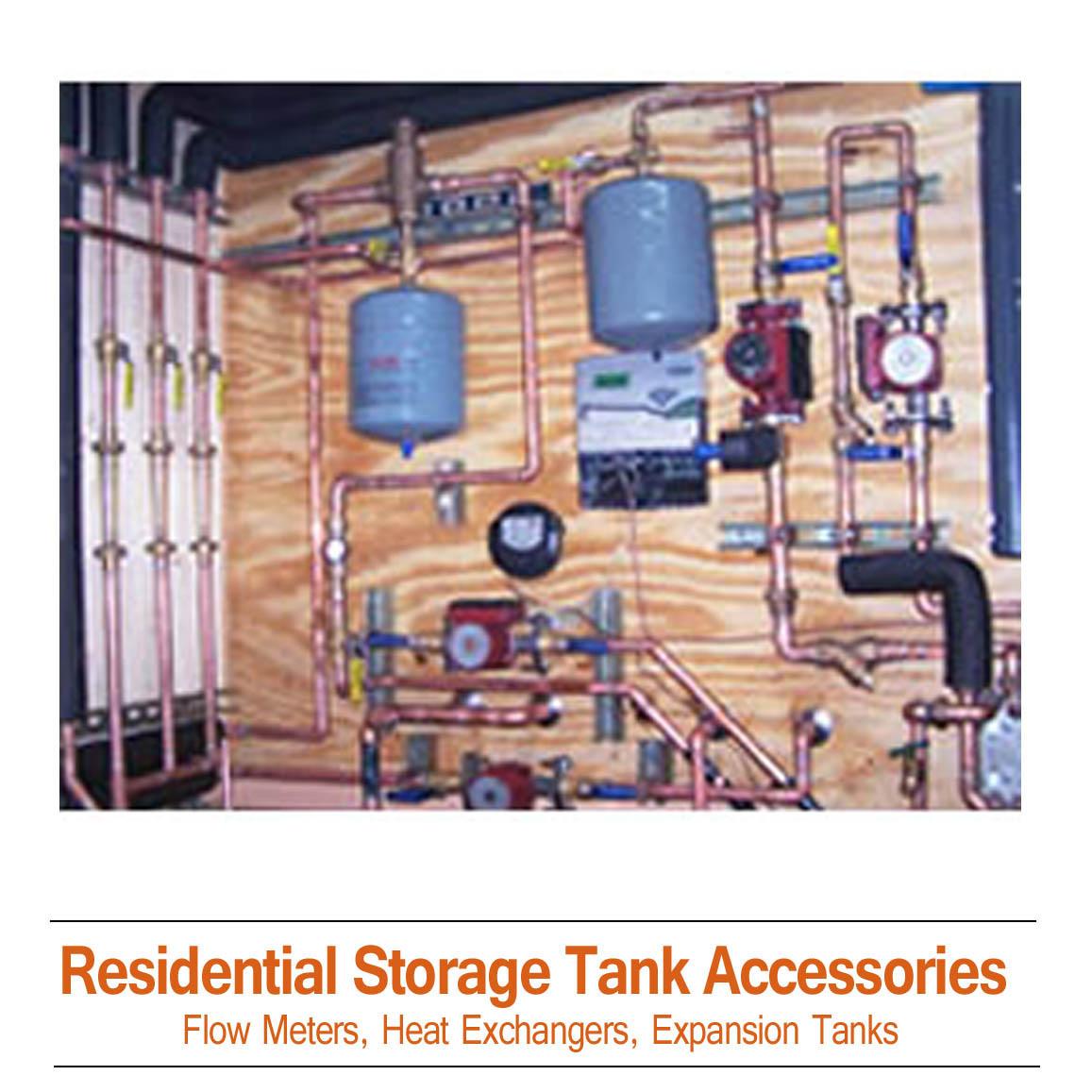 Residential Storage Tank Accessories