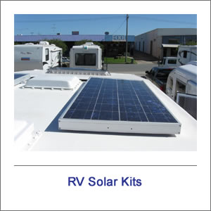 RV Solar Power Kits