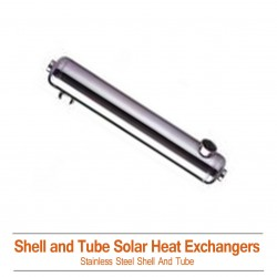 Shell & Tube Solar Heat Exchangers