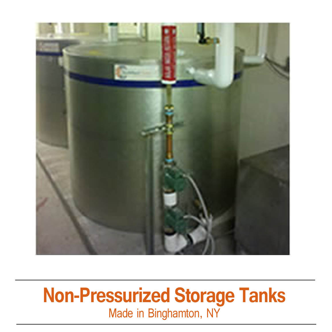 Commercial Solar Storage Tanks
