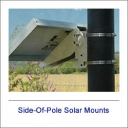 Side Of Pole Solar Mounts