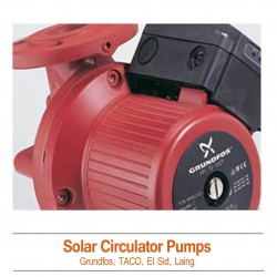 Solar Hot Water Circulator Pumps