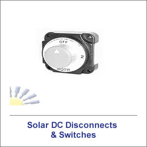 Solar DC Disconnects & Switches