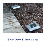 Solar Deck & Step Lights