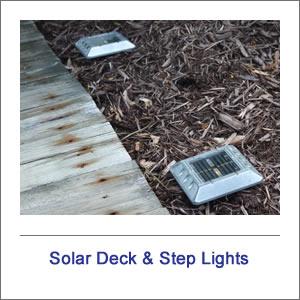 Solar Deck & Step Lights