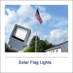 Solar Flag Lights