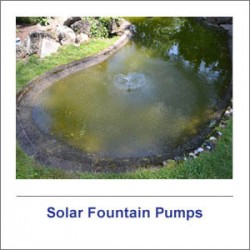 Solar Fountain Pumps