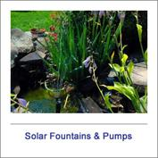 Solar Fountains & Pumps