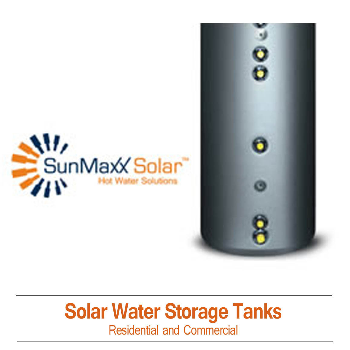 Solar Water Storage Tanks