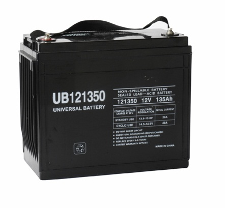 12v 135Ah AGM Battery