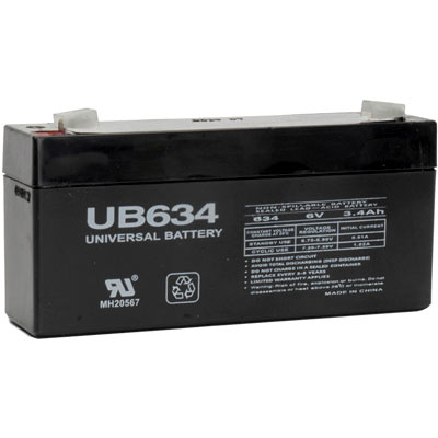 Sealed Lead Acid Batteries 6V 3.4AH