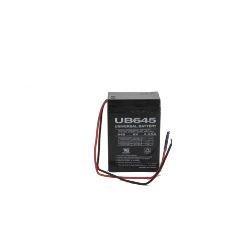 6V 4.5Ah Universal Replacement Battery