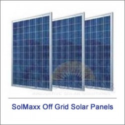 SolMaxx Off Grid Solar Panels