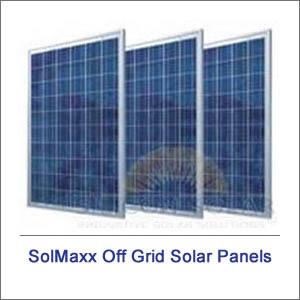 SolMaxx Off Grid Solar Panels