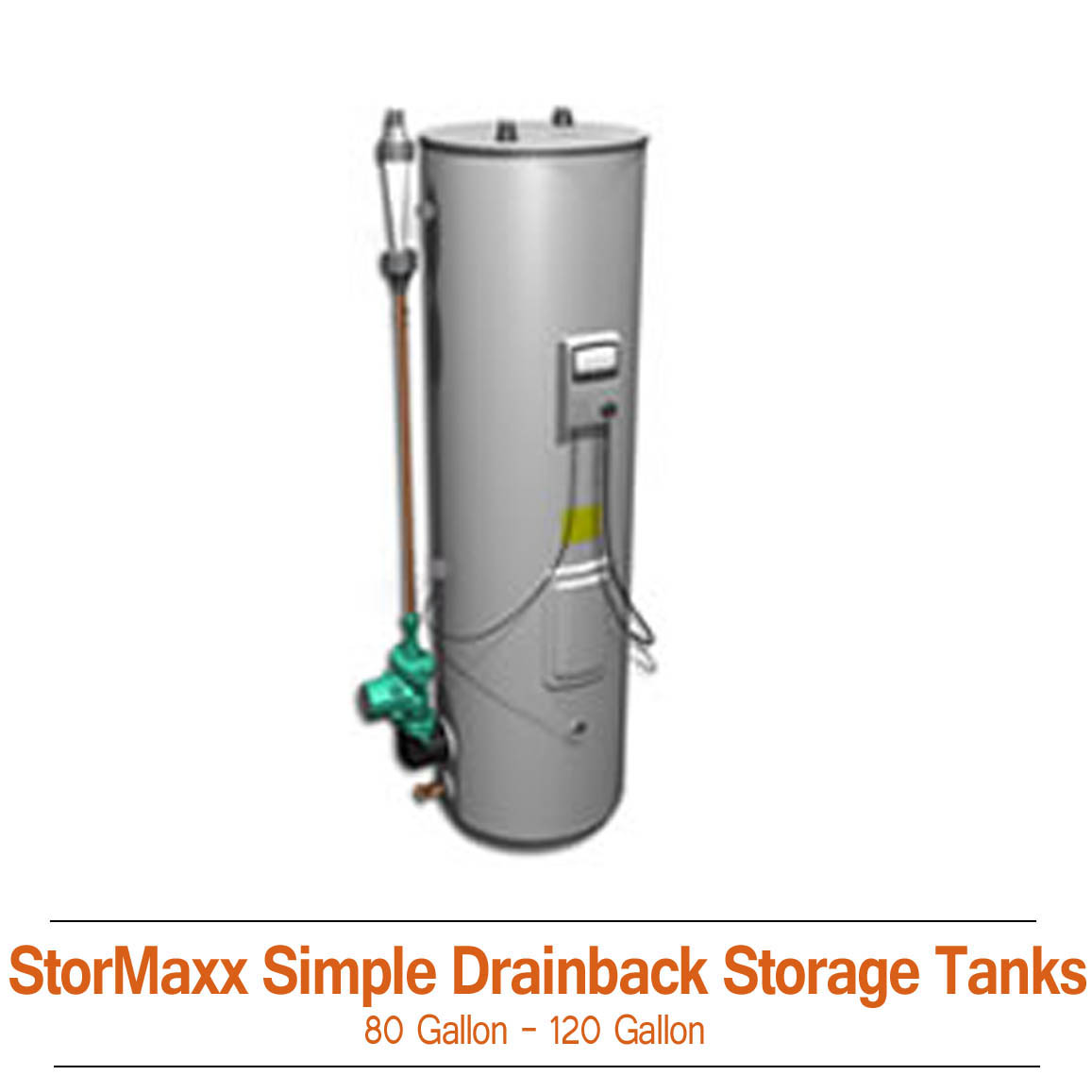 StorMaxx Simple Drainback Tanks