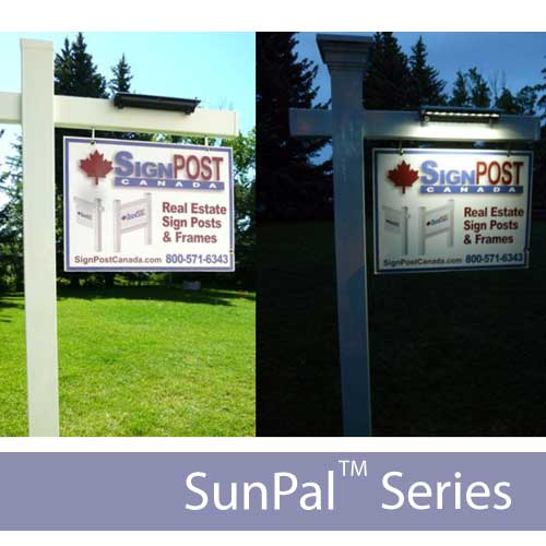 New Sunpal 2x Solar Real Estate Light Solar Lights