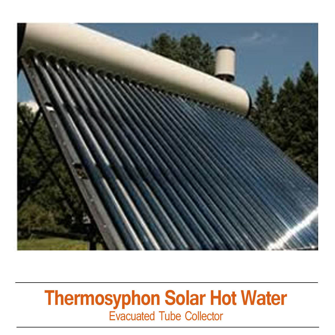 ThermoSyphon DIY Solar Hot Water Kits