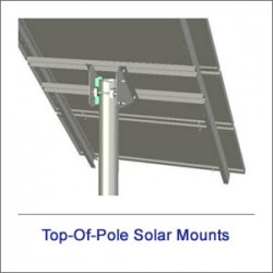 Top Of Pole Solar Mounts
