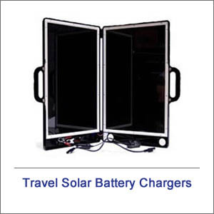 AA/AAA/C/D Travel Solar Battery Chargers