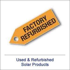 Used Solar Products