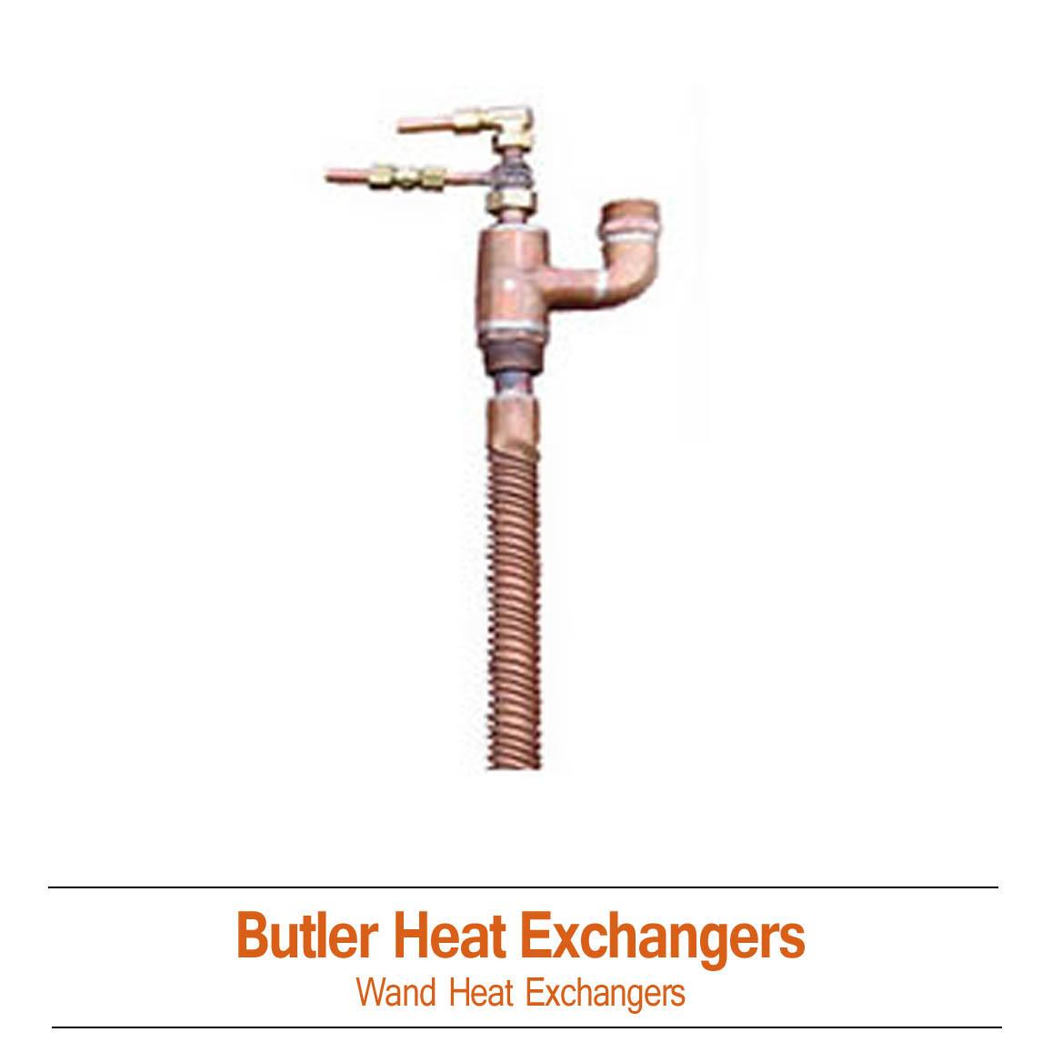 Butler Solar Wand Heat Exchangers