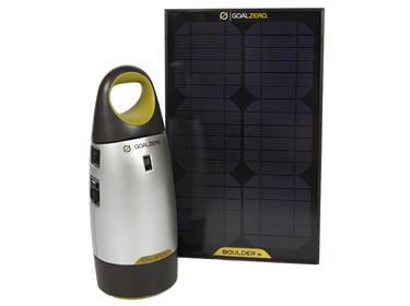 150W Portable Solar Power System Charging Kit