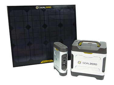 Goal Zero 350W Portable Solar Power Charger Kit