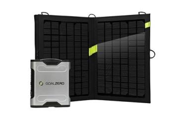 Sherpa 50W Portable Solar Power Charging Kit