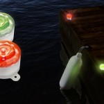 Solar Marker Light for Boaters – 2 pcs. (Red/Green)