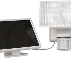 100 LED Solar Flood Light