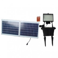 156 LED Solar Flood Light