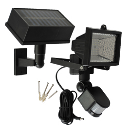 54 LED Solar Motion Sensor Security Light