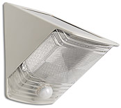 Solar Motion-Activated Security Wedge Light