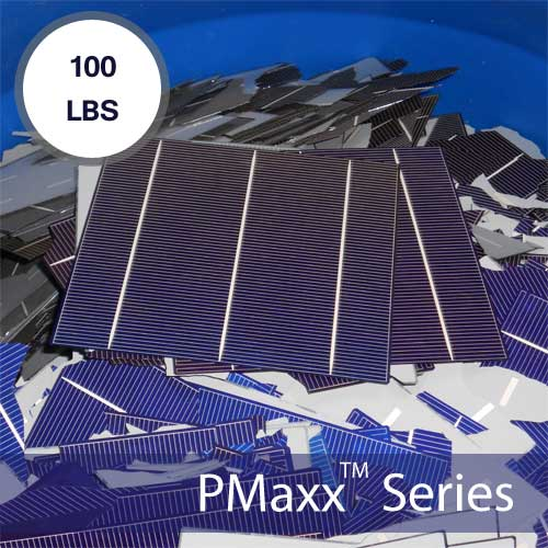 Bulk Scrap Solar Cells 100lbs 12,000 Watts