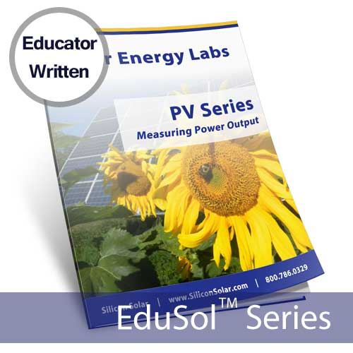 Solar PV Power Output – Solar Energy Lab
