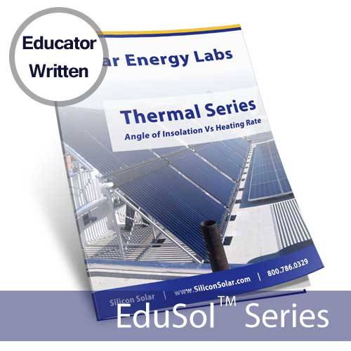 Angle of Insolation Versus Heating Rate – Solar Energy Lab