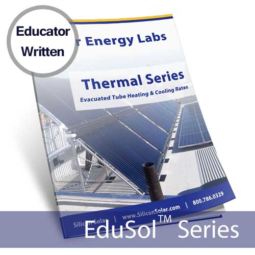 Evacuated Tube Collector Heating and Cooling Rates Lab – Solar Energy Lab