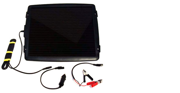 Automotive Solar Battery Chargers by Silicon Solar