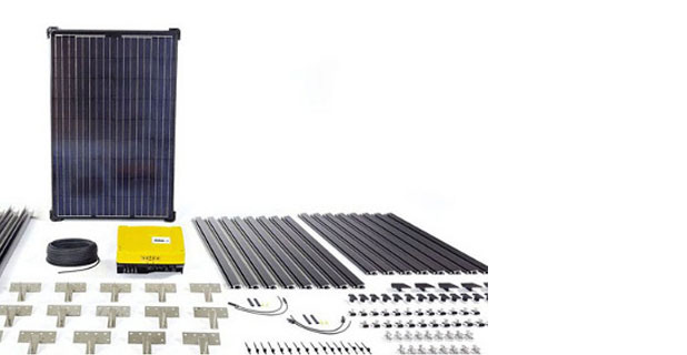 Pre-Packaged DIY Solar Panel Kits